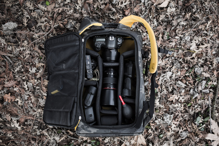 Hex Camo DSLR Backpack Review - The Brotographer